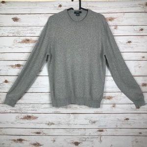 J.Crew Gray sweater (bin:a2)